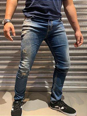 Calça Premium Filho Rico - Jeans Rust