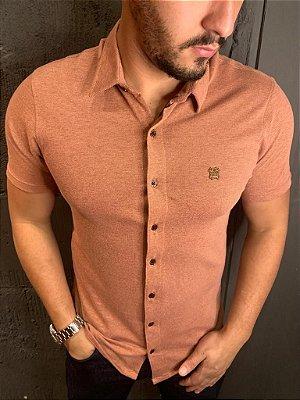 Camisa Confortflex de botão - Filho Rico - Rosê