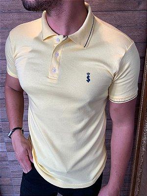 Camiseta Polo Premium Verão 2021- Amarelo - Limão