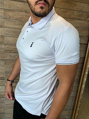 Camiseta Polo Premium Verão 2021- Branca