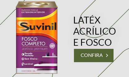 LÁTEX ACRÍLICO E FOSCO