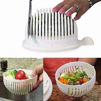 Cortador Fatiador De Salada Salad Cutter Bowl Seguro Chef