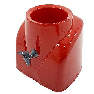 Suporte Galão De Água Mineral Bombona 10 E 20 Litros Vermelho