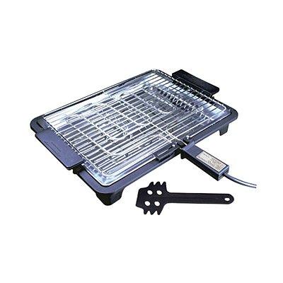 Churrasqueira Elétrica Portátil Platinum Grill Churrasco 1700 Watts de Potência Plus PRETA