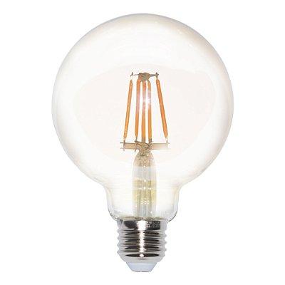Lâmpada Filamento Led Vintage G95 4W BIVOLT E27 2200K - 01 Un