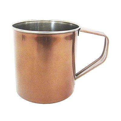 Caneca Rose Gold 500ml Inox Para Bebidas Drinks