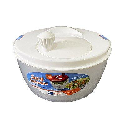 Centrífuga De Salada Secador Verduras Manual 4 Litros