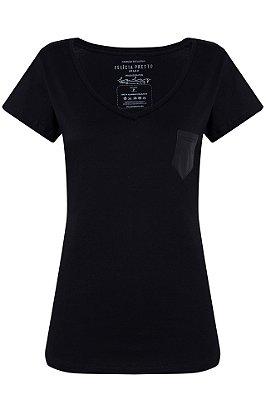 T-shirt em algodão orgânico - Olívia