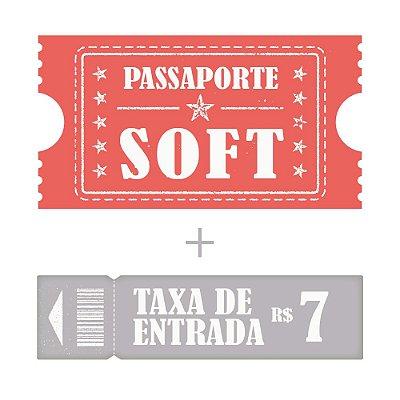 Passaporte Soft + Entrada Criança até 10 anos e idoso Acima de 60 anos