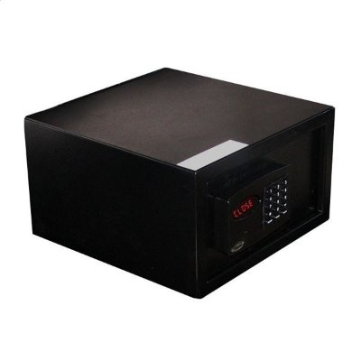 Cofre Eletrônico Office Black com Auditoria - Cofres Gold Safe