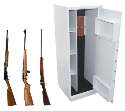 Cofre Eletrônico para Armas Com Auditoria modelo Safe Gun 1.3