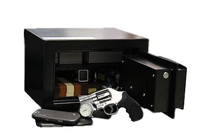 Cofre para Armas com Sistema Eletrônico Senha digital Modelo Personal Black