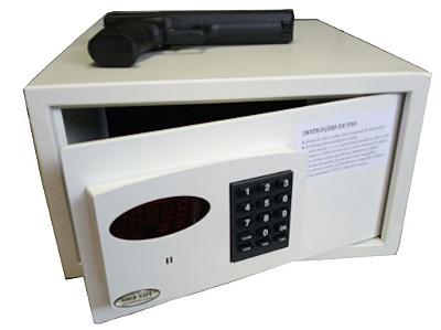 Cofre Para Armas Sistema Eletrônico com senha e abertura automática Mod. Slim