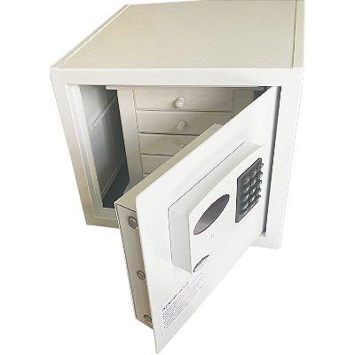 Cofre Eletrônico para Jóias Empresarium 6 Gavetas