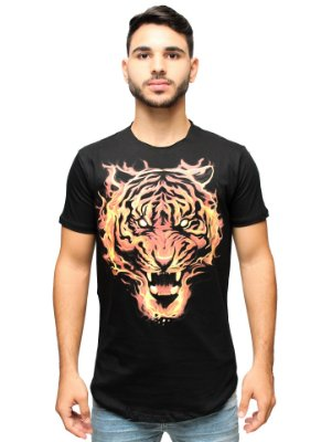 Camiseta Long Brothers Tiger Fire