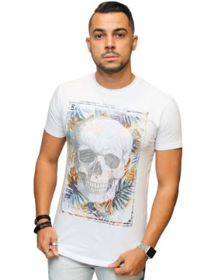 Camiseta Long Brothers Summer Skull