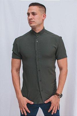 Camisa Gola Padre Militar Brothers