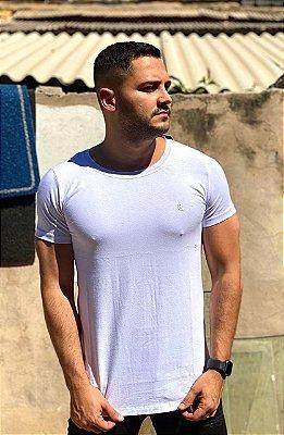 Camiseta Long Basica Branco