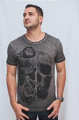 Camiseta Brothers Caveira Flame