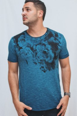 Camiseta Flowers Flame