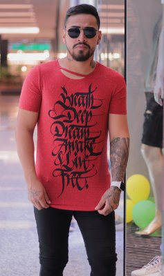 Camiseta Pargan Breath Red
