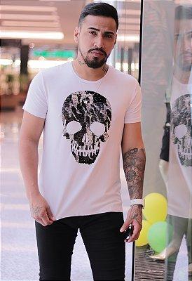 Camiseta Usa Skull