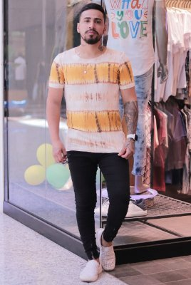 Camiseta Yellow Mostard