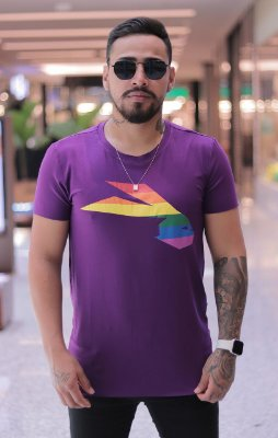 Camiseta Pargan Purple Rabbit