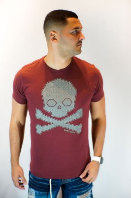 Camiseta Brothers Wine Skull