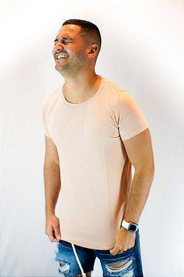 Camiseta Basica Long Areia