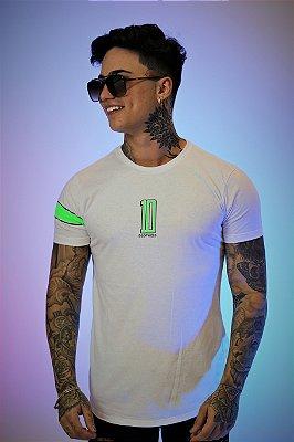 Camiseta Brothers Camisa 10 White