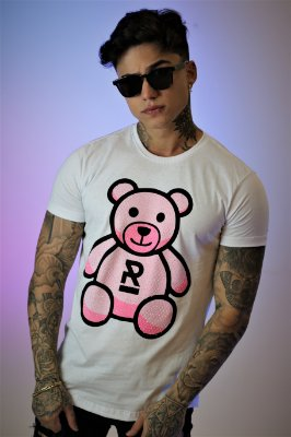 Camiseta Brothers Pink Bear