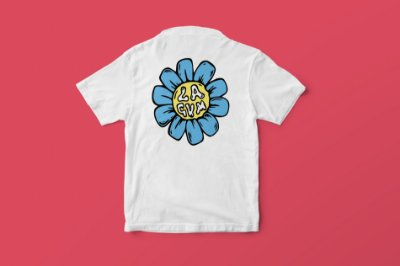 Camiseta Flor Lagum