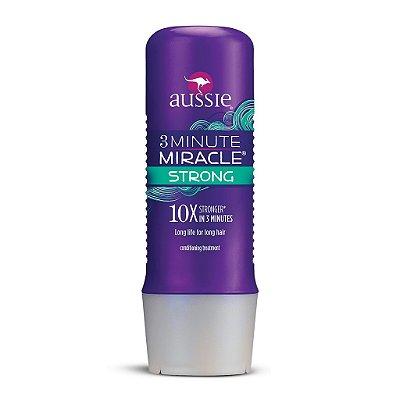 Aussie 3 Minutes Miracle Strong 10x - 236ml (Condicionamento Intenso e Força)