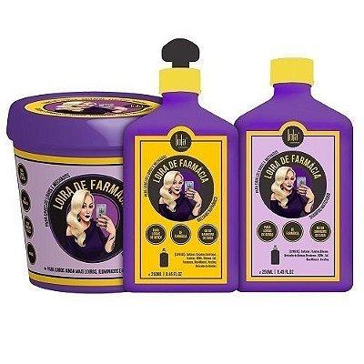 Linha Loira de Farmácia (Matização cabelos loiros - itens) Lola Cosmétics