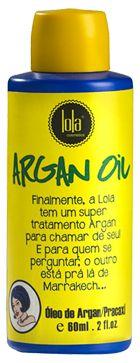 Óleo de Argan - Argan Oil Pracaxi 60ml - Lola Cosmétics