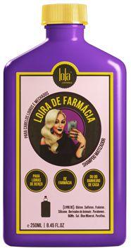 Shampoo Matizador Loira de Farmácia 250ml - Lola Cosmétics