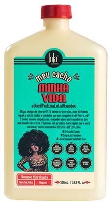 Shampoo Meu Cacho Minha Vida 500ml - Lola Cosmétics