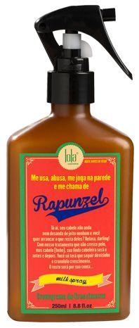 Rapunzel Milk Spray Condicionante para os fios 250ml - Lola Cosmétics