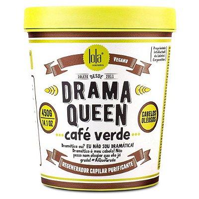 Drama Queen Café Verde (Cabelos Oleosos) 450g - Lola Cosmétics
