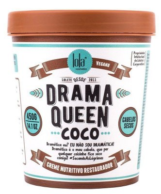 Drama Queen Coco (Cabelos secos) 450g - Lola Cosmétics