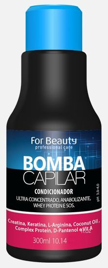 Condicionador Bomba Capilar 300ml - For Beauty