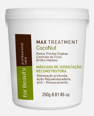 Máscara Coconut Oil 250g - For Beauty