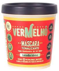 Vermelhô Mascara Tonalizante Vermelhos 230g - LOLA COSMETICS