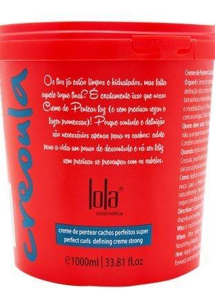 Creme de Pentear Creoula 930g - Lola Cosmetics