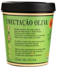 Umectação Oliva 200g - Lola Cosmétics