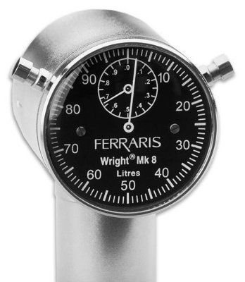 Ventilometro de wright analógico Ferraris Mark 8