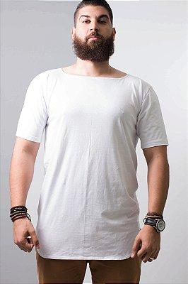 camiseta oversized barra arredondada