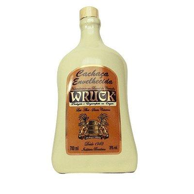 Cachaça envelhecida 5 anos Wruck Porcelana - 700ml