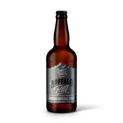 Buffalo Bill - Russian Imperial Stout - 500 ml - Jimmy Eagle